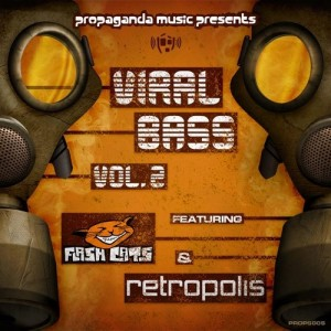 The Flash Cats & Retropolis · Viral Bass E.P. Vol 2